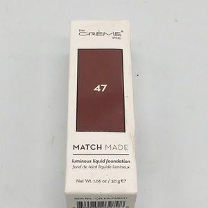 The Creme Shop Match Made Liquid Foundation 47